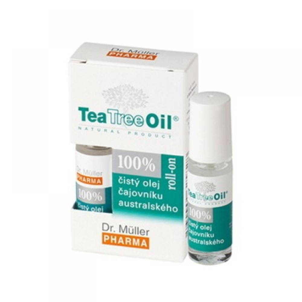 DR. MÜLLER DR. MÜLLER Tea tree oil 100% čistý roll-on 4 ml
