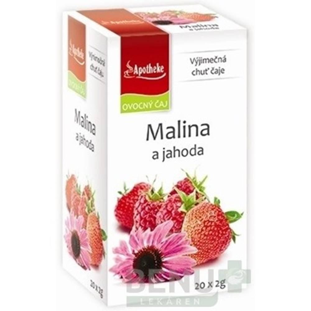 Apotheke APOTHEKE Premier selection čaj malina a jahoda 20 x 2 g