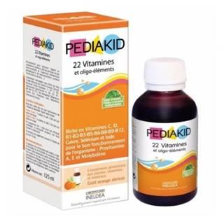 PEDIAKID 22 Vitamínov 125 ml