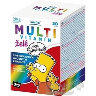 REVITAL Multivitamín the Simpsons 50 kusov