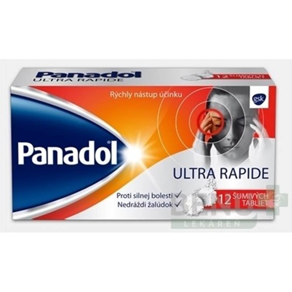PANADOL PANADOL Ultra rapide 12 šumuvých tabliet