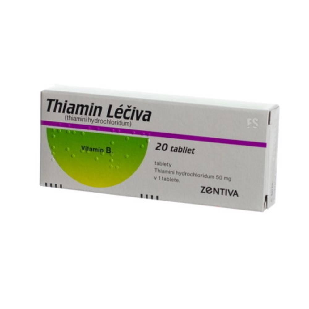 Zentiva THIAMIN Léčiva 500 mg 20 tabliet