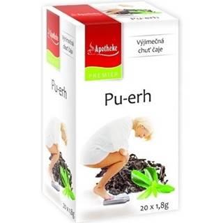 APOTHEKE Premier selection čaj  pu-erh 20 x 1,8g
