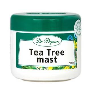 DR. POPOV Masť tea tree oil 50 ml