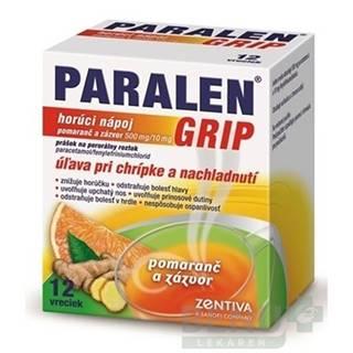 PARALEN GRIP horúci nápoj pomaranč a zázvor 12 vreciek