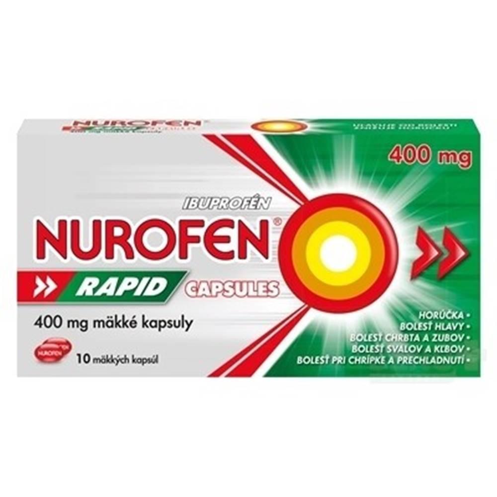 NUROFEN NUROFEN Rapid 400 mg 10 kapsúl