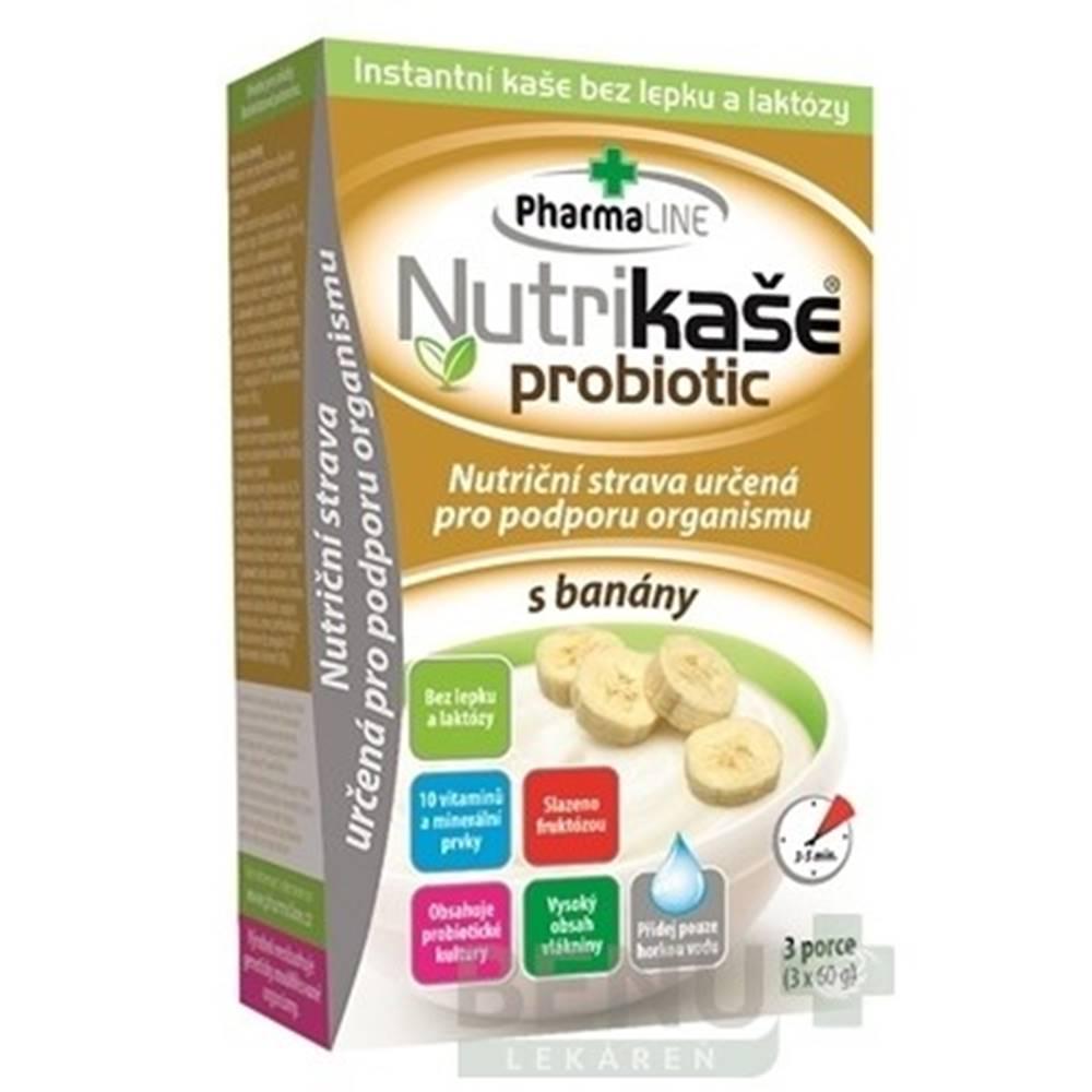 PharmaLINE NUTRIKAŠA Probiotic s banánom 3 x 60 g