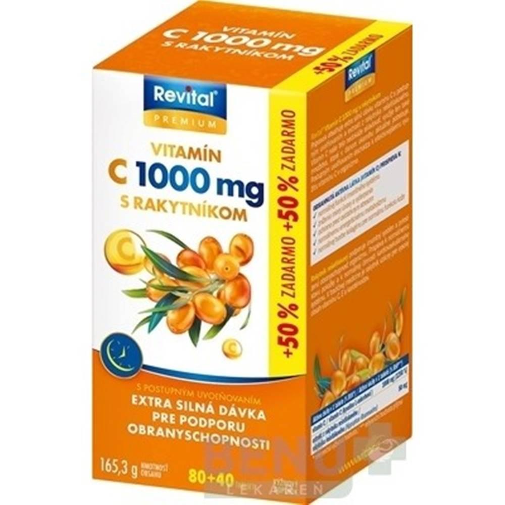 Revital REVITAL Premium vitamín C 1000 mg s rakytníkom 80 + 40 tabliet ZADARMO