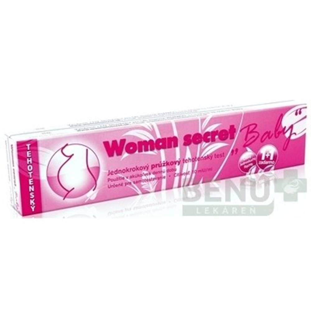 Imperial Vitamins s.r.o WOMAN SECRET Baby tehotenský test prúžkový 2v1 1 kus