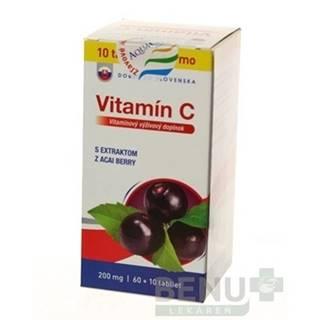 DOBRÉ Z SK Vitamín C 200 mg príchuť acai 60 + 10 tabliet ZADARMO