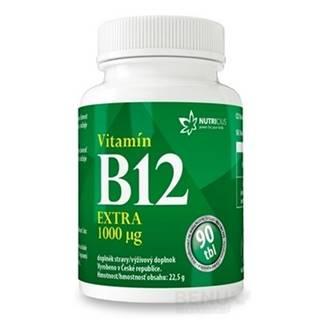 NUTRICIUS Vitamín B12 extra 1000 µg 90 tabliet
