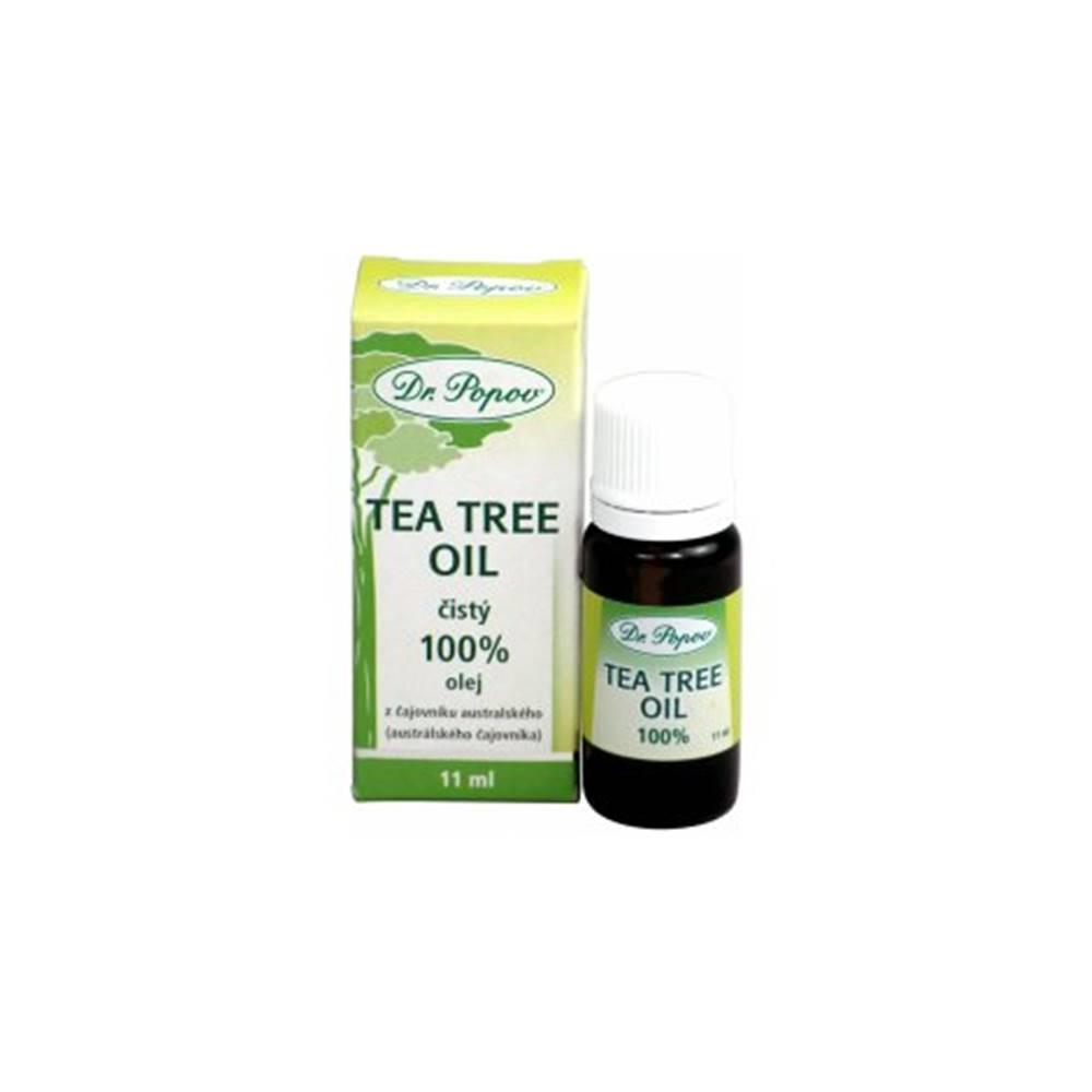 Dr.Popov DR. POPOV TEA TREE OLEJ prírodný 100% 11 ml