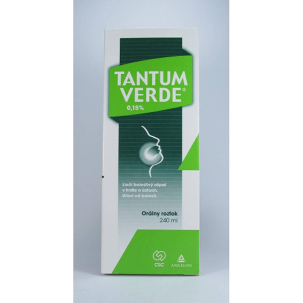 CSC Pharmaceuticals Tantum verde roztok 240ml