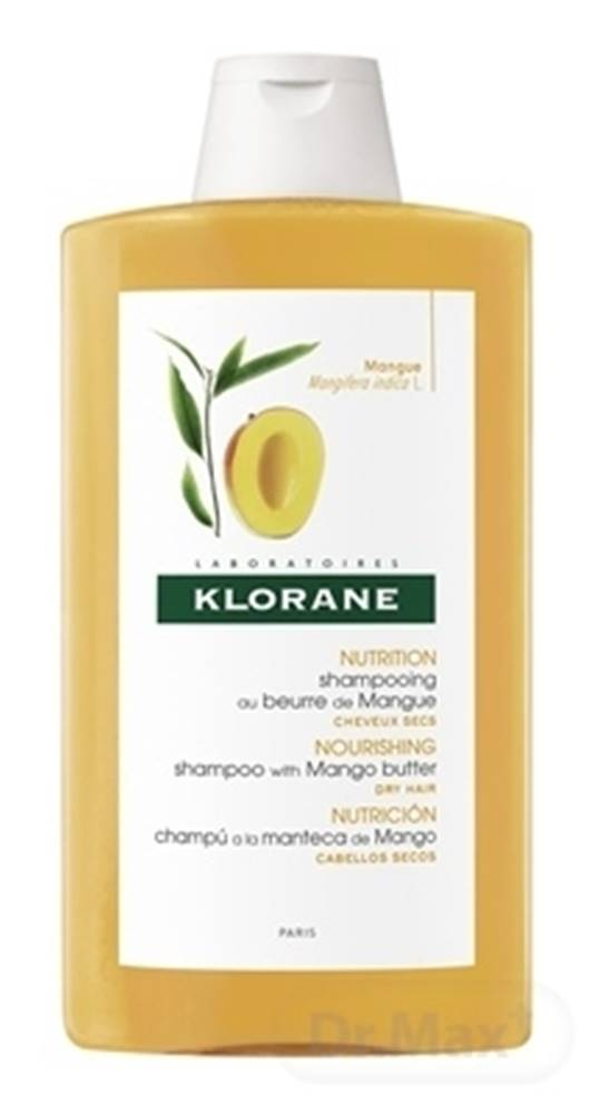 Klorane Klorane shampooing au beurre de mangue