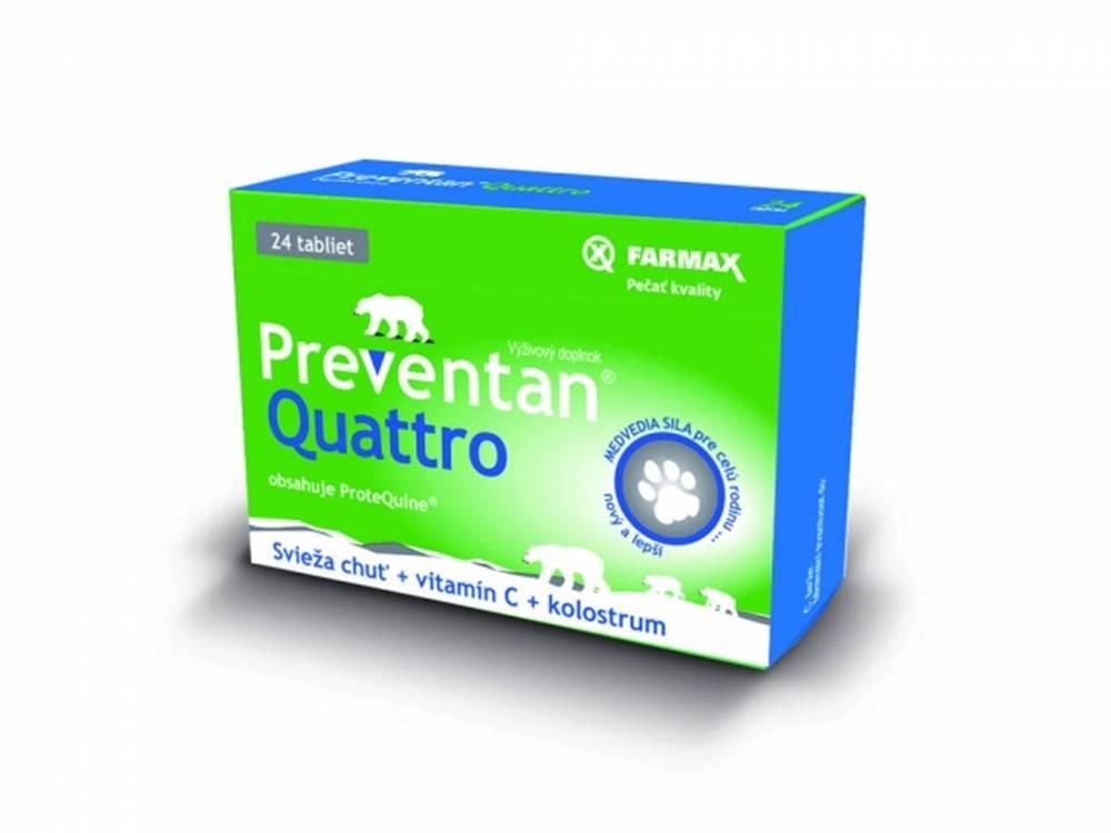 FARMAX FARMAX Preventan Quattro + vitamín C