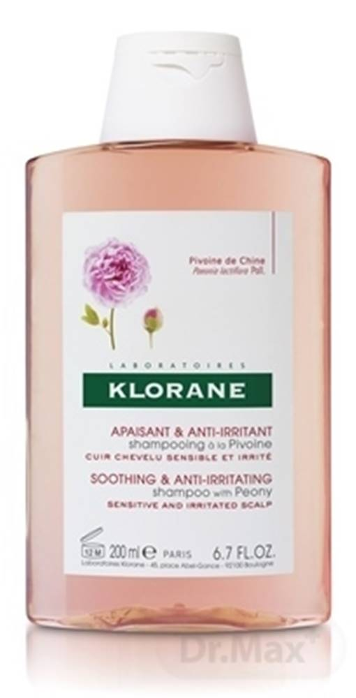 Klorane Klorane shampooing à la pivoine (inovácia)