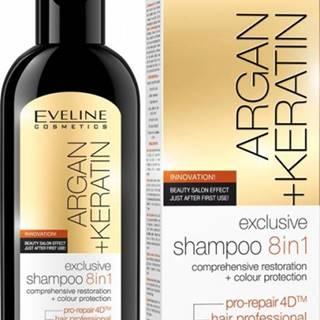 EVELINE Argan + Keratin šampón 8v1 150ml