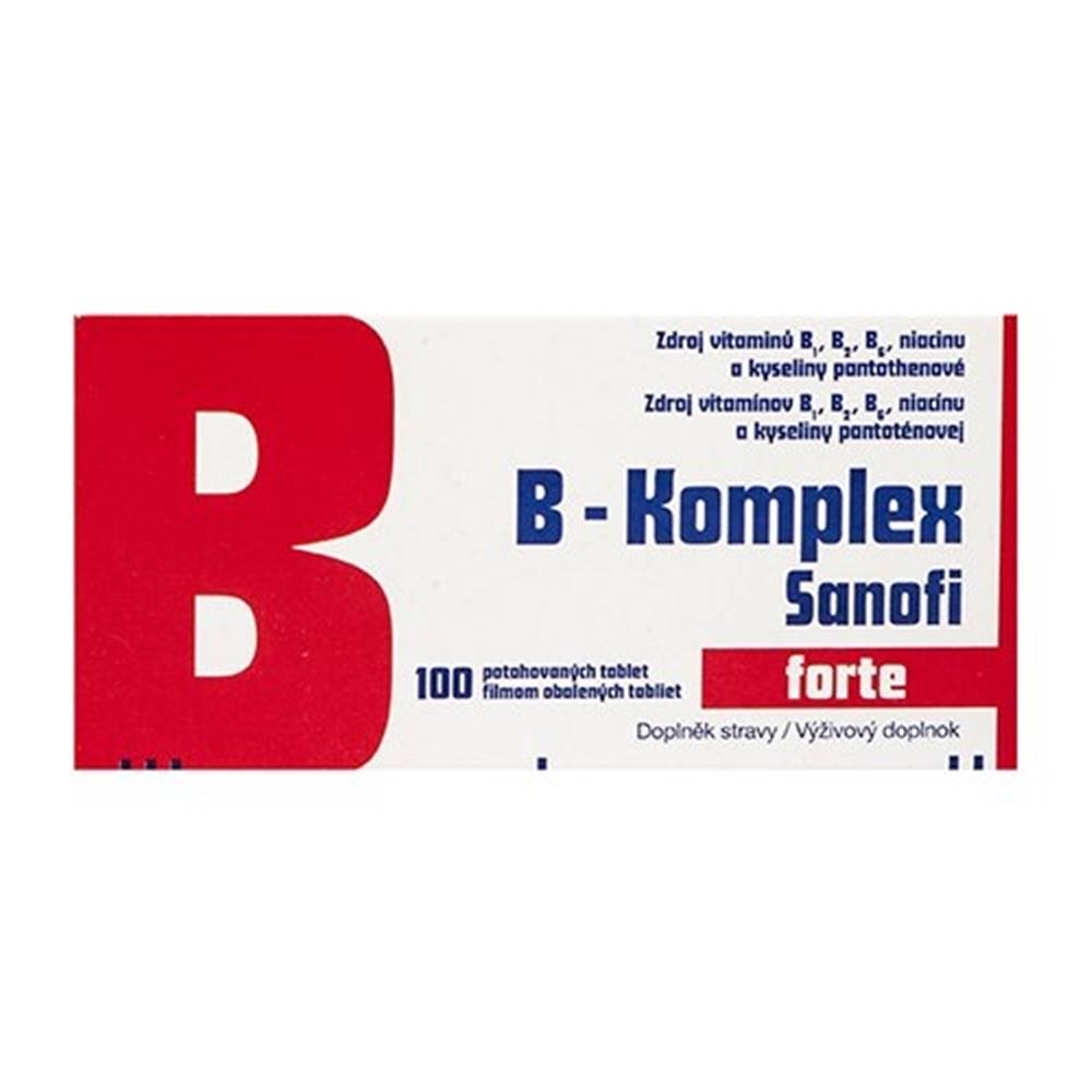 Zentiva B-Komplex forte Sanofi