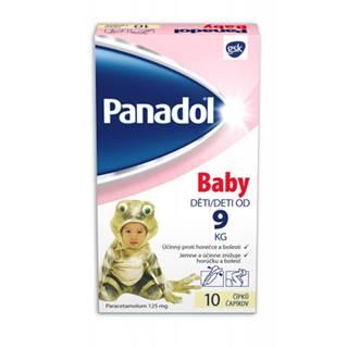 Panadol Baby čapíky 10 ks