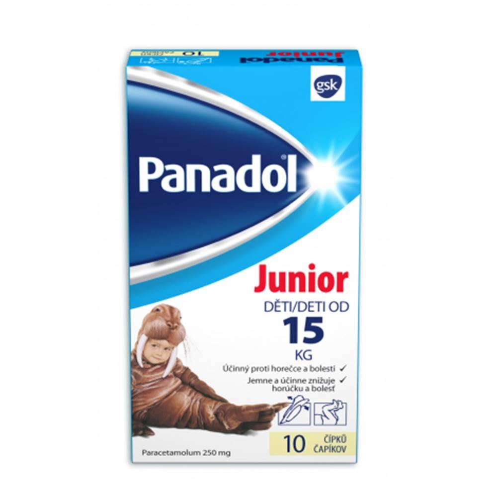 Glaxo Smith Kline Panadol Junior čapíky 10 ks