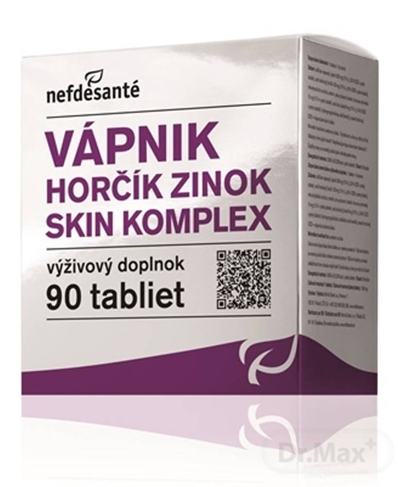 Nef de Sante Nefdesanté vápnik horčík zinok skin komplex
