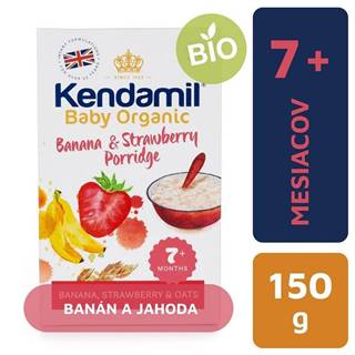 KENDAMIL Organic, BIO Kaša banán a jahoda