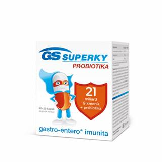 GS Superky Probiotika 60 + 20 cps