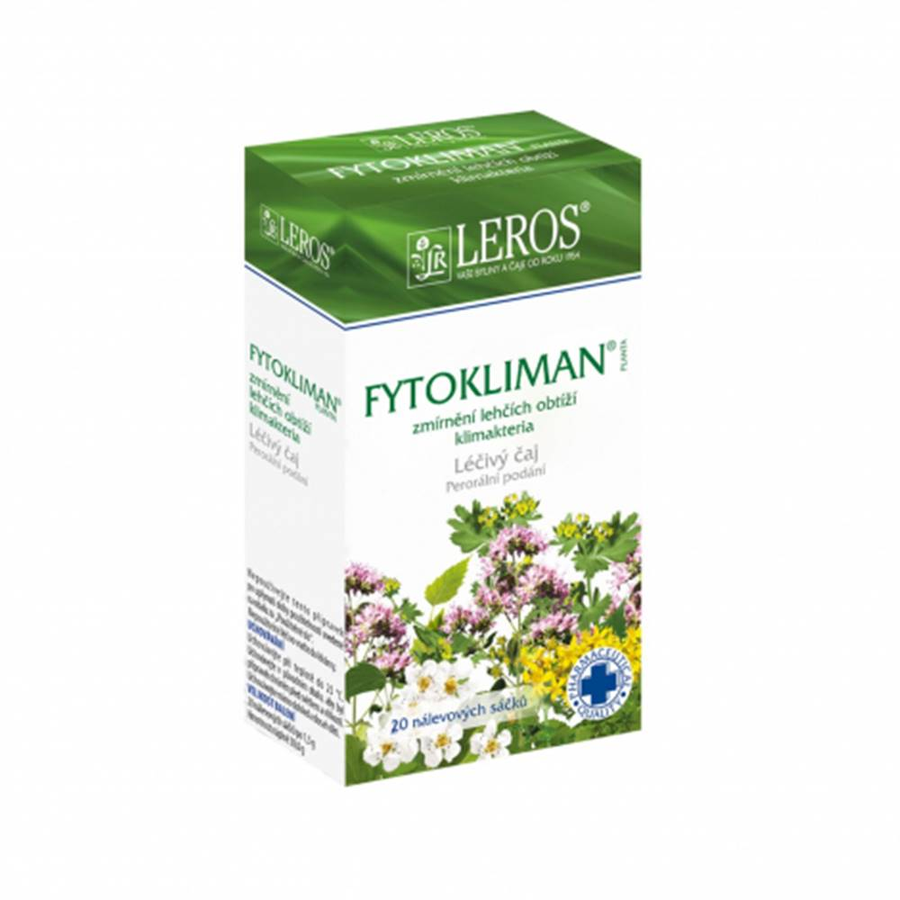 Leros, s.r.o. LEROS FYTOKLIMAN PLANTA spc 20x1,5 g