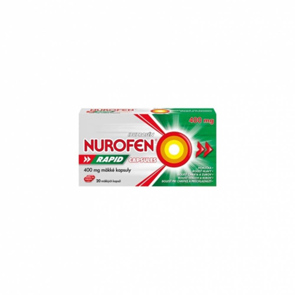 Reckitt Nurofen Rapid 400 mg kapsuly 20 cps
