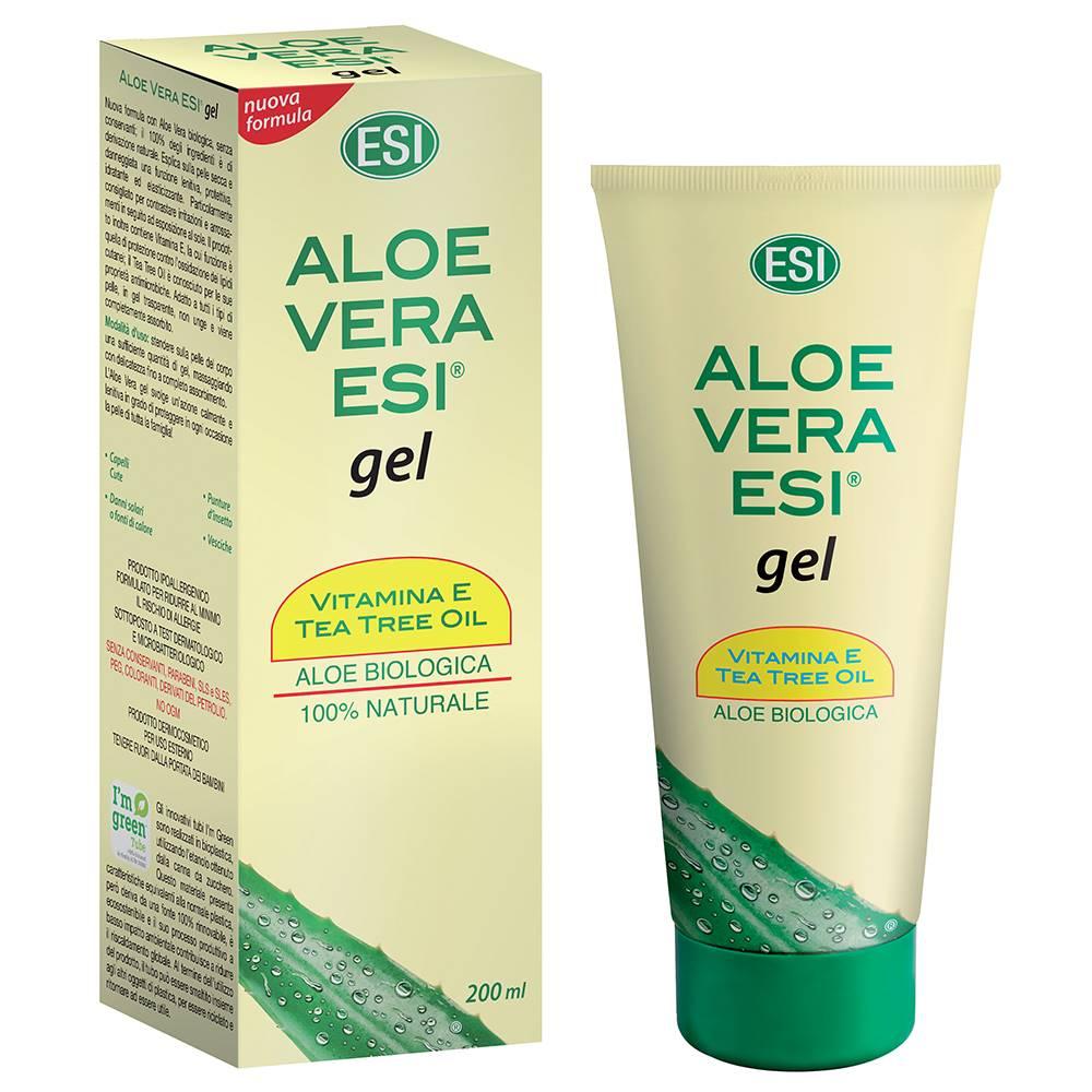 ESI Aloe vera GÉL s vitamínom E a Tea tree 200 ml