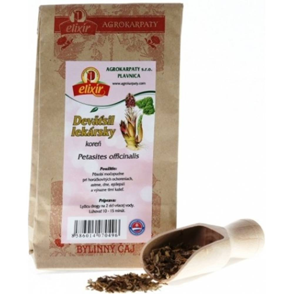 AGROKARPATY, s.r.o. Plavnica (SVK) AGROKARPATY DEVÄTSIL LEKÁRSKY koreň bylinný čaj 1x30 g
