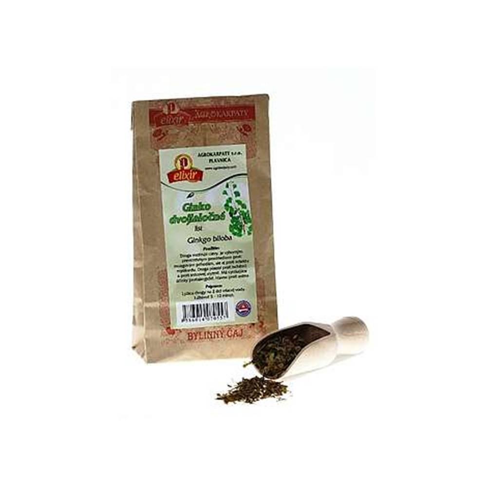 AGROKARPATY, s.r.o. Plavnica (SVK) AGROKARPATY GINKGO DVOJLALOCNE list bylinný čaj 1x30 g