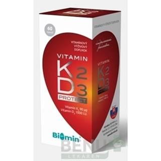 BIOMIN Vitamín K2 + D3 protect 60 kapsúl