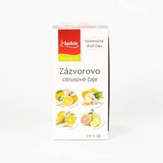 APOTHEKE Zázvorovo citrusové čaje N.S.