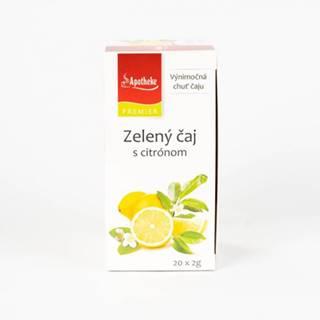 APOTHEKE zelený čaj s citrónom N.S.