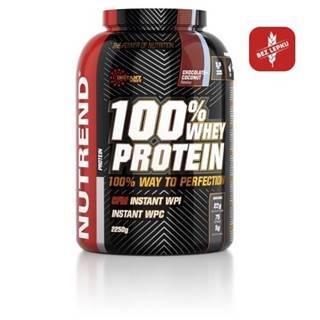 NUTREND 100% Whey protein s príchuťou čokoláda + kakao 2250 g