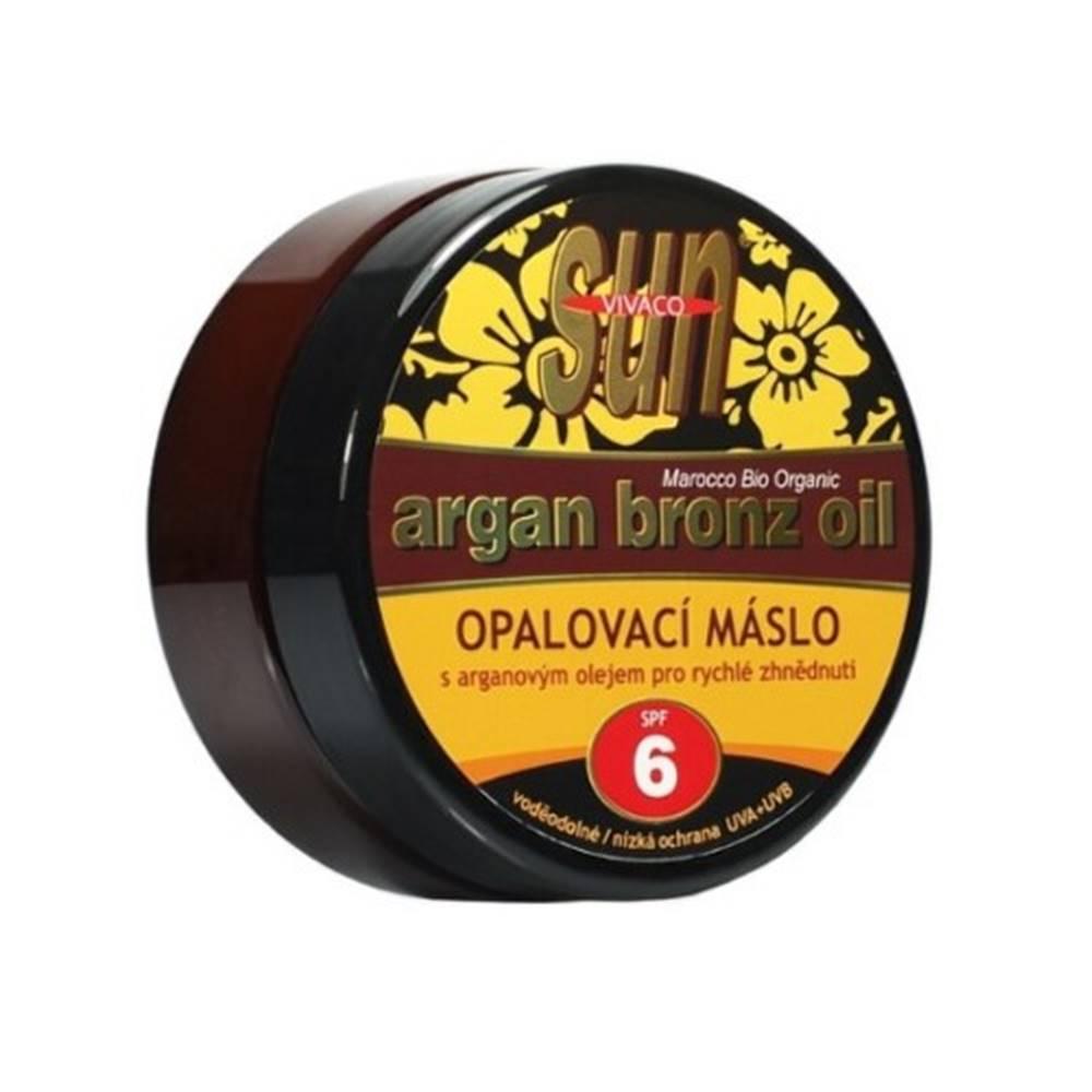 Vivaco SUN ARGAN Bronz oil opaľovacie maslo SPF6 200 ml