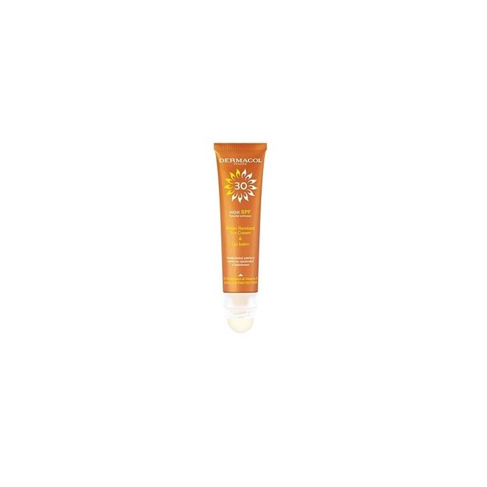 Dermacol DERMACOL SUN Vodoodolný pleťový krém a balzam na pery SPF30