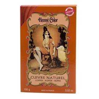 Henné Color Paris Cuivré Henna Powder, Henné Color 100 g - Medená