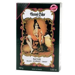 Henné Color Paris Noir Henna Powder, Henné Color 100g - Čierna