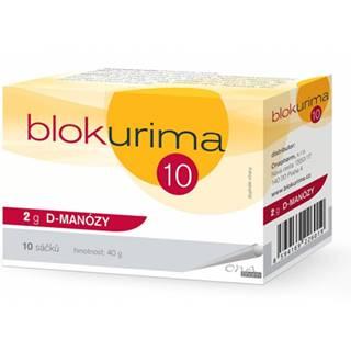 Blokurima 2 g D-MANÓZY vrecúška 10 ks