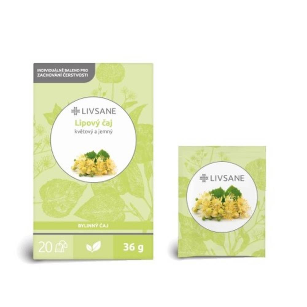 LIVSANE LIVSANE Lipový čaj 20 x 1,8 g